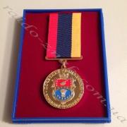 Виготовлення медалей.