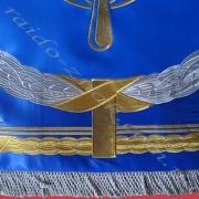 Флаги с вышивкой.
