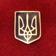 """Значок """"Герб Украины""""."""
